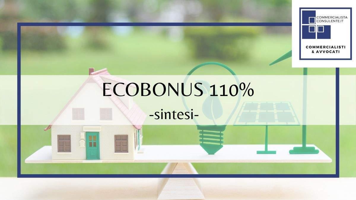 ecobonus detrazione 110%