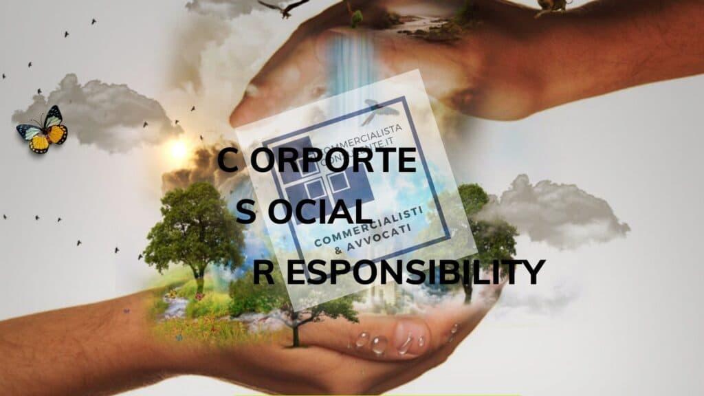 CORPORATE SOCIAL RESPONSIBILITY COS'E'
