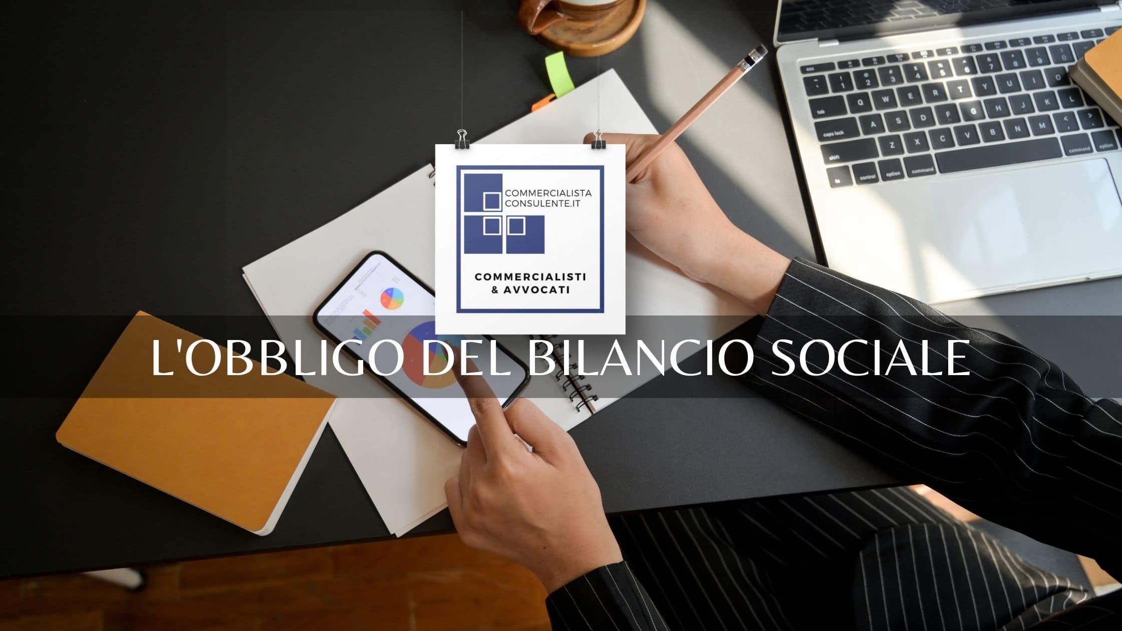 l'obbligo del Bilancio Sociale